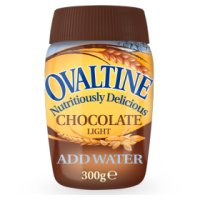 Ovaltine chocolate light jar