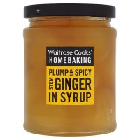 Waitrose Chinese Stem Ginger (in syrup)