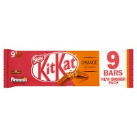 KitKat 2 Finger Orange multipack