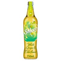 Shloer sparkling white grape & elderflower juice drink