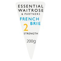 Essential Waitrose French mild Brie