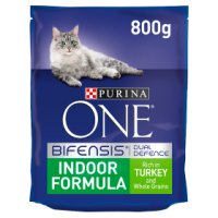 Purina ONE Indoor Cat Rich in turkey & whole grains dry food