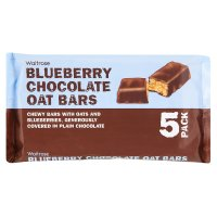 Waitrose blueberry & chocolate oat bars