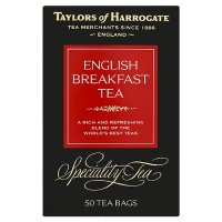 Taylors of Harrogate English breakfast 50 tea bags