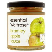 essential Waitrose bramley apple sauce