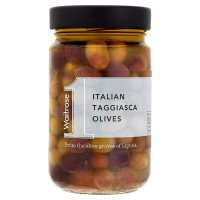 Waitrose taggiasca olives with oregano