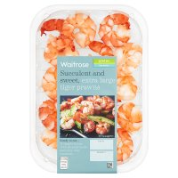 Waitrose extra large tiger prawns
