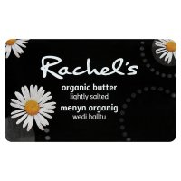 Rachel's organic lightly salted butter