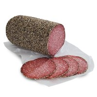 German Pepper Coated Salami