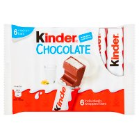 Kinder chocolate snack bars