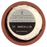Waitrose St. Marcellin cheese, strength 5