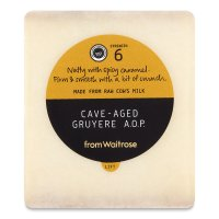 Waitrose cave-aged Gruyere cheese, strength 6