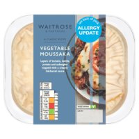 Waitrose vegetable moussaka