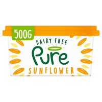 Pure dairy free sunflower spread