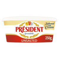 President spreadable unsalted