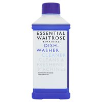 essential Waitrose dishwasher cleaner