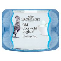Clarence Court Old Cotswold Legbar mixed weight British free range eggs