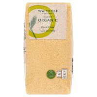 Waitrose Duchy Organic Wholesome organic 127 couscous