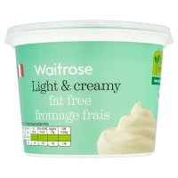 Waitrose natural virtually fat free French fromage frais