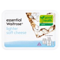 Essential Waitrose extra light soft cheese