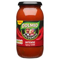 Dolmio extra spicy bolognese sauce