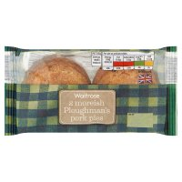 Waitrose Melton Mowbray pork, pickle & cheese pies