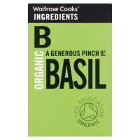 Waitrose Cooks' Ingredients organic basil