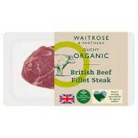 Duchy Originals from Waitrose organic British beef fillet steak
