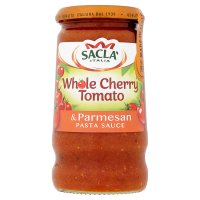 Sacla' whole cherry tomato & parmesan pasta sauce