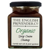 The English Provender Co, organic spicy onion chutney