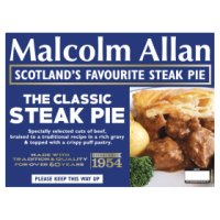 Malcolm Allan Scotch steak pie