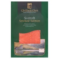 Ghillie & Glen Scottish smoked salmon minimum 6 slices