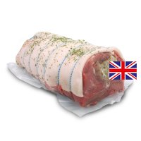 Waitrose Free Range Hampshire breed stuffed pork shoulder with sage & onion