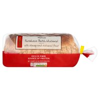 Waitrose LoveLife wholemeal farmhouse batch sliced bread