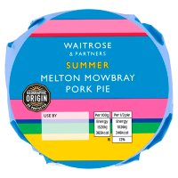Waitrose Melton Mowbray small pork pie