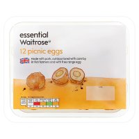 essential Waitrose 12 picnic eggs