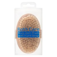 Alida bath care brush with strap