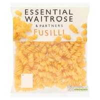 essential Waitrose fusilli fresh pasta