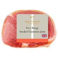 Waitrose British Free Range smoked dry cured bacon gammon joint