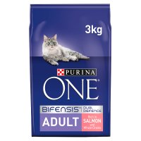 Purina one cat adult salmon & rice