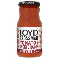 Loyd Grossman smoky bacon pasta sauce