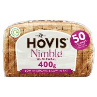Hovis Nimble wholemeal sliced bread