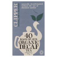 Clipper Organic Decaffinated Tea - 40 Bags