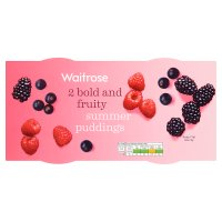 Waitrose 2 fruity summer puddings