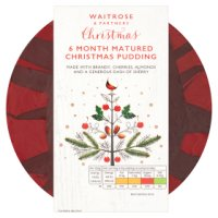 Waitrose richly fruited Christmas pudding
