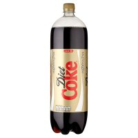 Diet Coke caffeine free plastic bottle