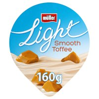 Müllerlight toffee yogurt