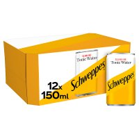 Schweppes tonic slimline multipack cans