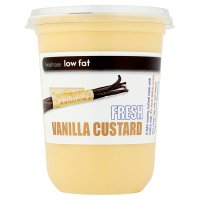Waitrose fresh low fat vanilla custard