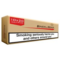 Benson & Hedges king size gold